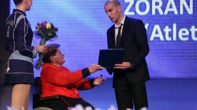 Proglaššenje najboljih hrvatskih sportaša s invaliditetom za 2016